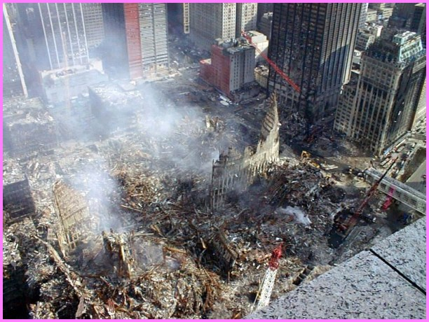 Ground Zero on September 23, 2001.