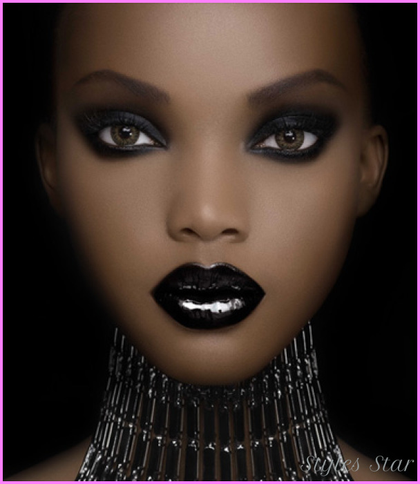 ... dark skin women. Makeup for Dark Skin with proper choice will make
