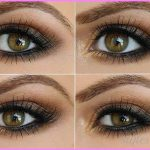 This is another simple and easy to apply prom eye makeup. This is all ...