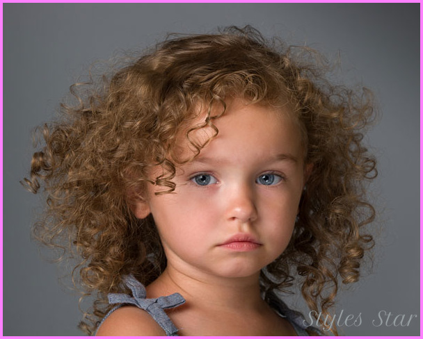 Hairstyles For Little Girls With Curly Hair