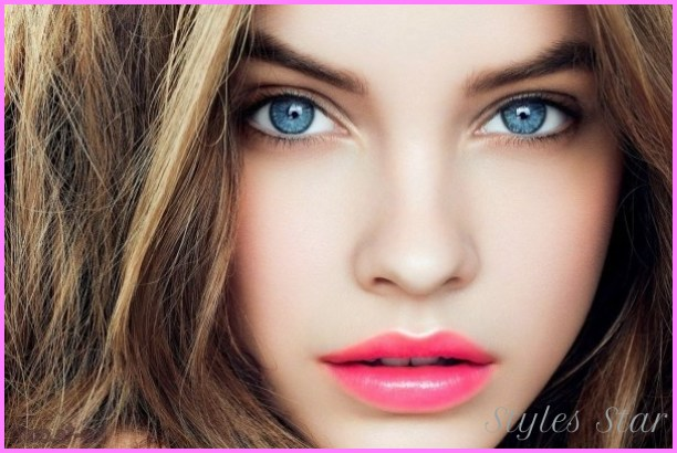 Best Hair Color for Fair Skin – Blonde, Brunette, Red, Blue Eyes ...