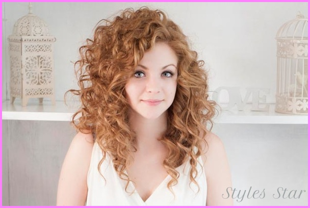 Layered Curly Hairstyles + 5 Steps to Fighting Frizz ...