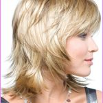 Medium short haircuts for women with straight hair