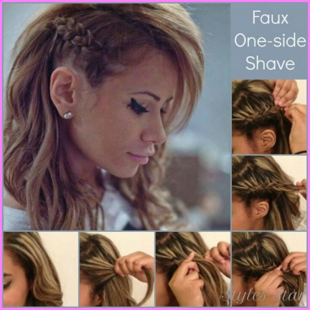 Braided On One Side Hairstyles _3.jpg