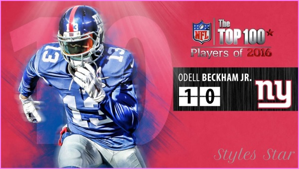 32 Odell Beckham (WR, Giants) | Top 100 Players of 2015 - YouTube