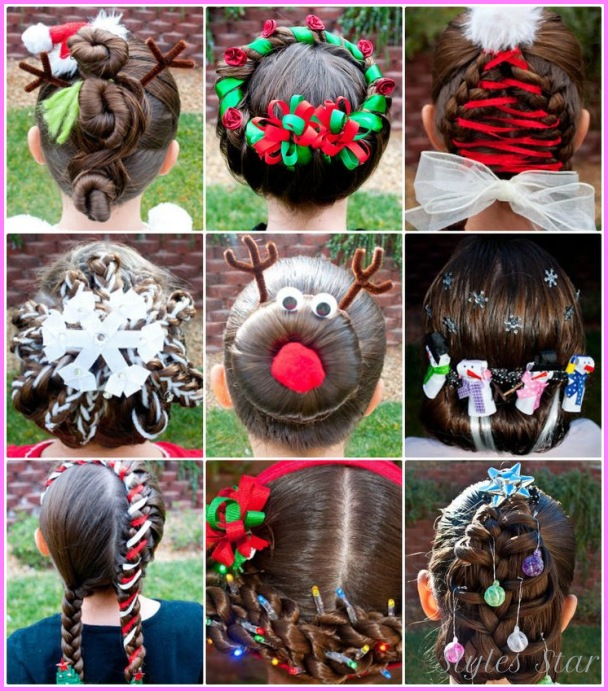 Pretty Christmas Tree Hairstyle That's Easier to Do Than it Looks!_4.jpg