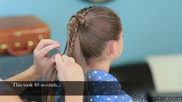Lace Braided Ponytail _ Style-laboration with Lilith Moon_HD720 12