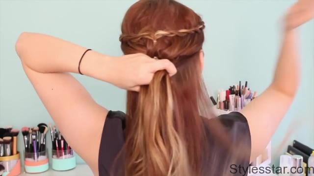 Quick and Easy Catelyn Stark Inspired Updo_HD720 6