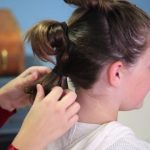 Rey's Triple Buns _ The Force Awakens _ Star Wars Hairstyles_HD720 14