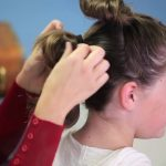 Rey's Triple Buns _ The Force Awakens _ Star Wars Hairstyles_HD720 15