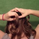 Romantic and Formal Side Ponytail_HD720 15