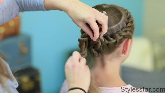 Rope Twisted Heart _ Cute Girls Hairstyles_HD720 23