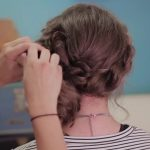 Rope Twisted Updo _ Homecoming Hairstyles_HD720 19