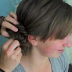 Side Fishtail Bun _ Updos _ Cute Girls Hairstyles_HD720 10