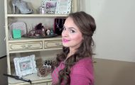 Simple Half Up Hairstyle - My Bridesmaids Hairstyles_HD720 9
