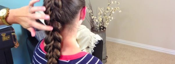 Stacked Twist Ponytail _ Cute Girls Hairstyles_HD720 20