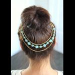 Teased High Bun _ Updo Hairstyles _ with AnneOrShine_HD720 05
