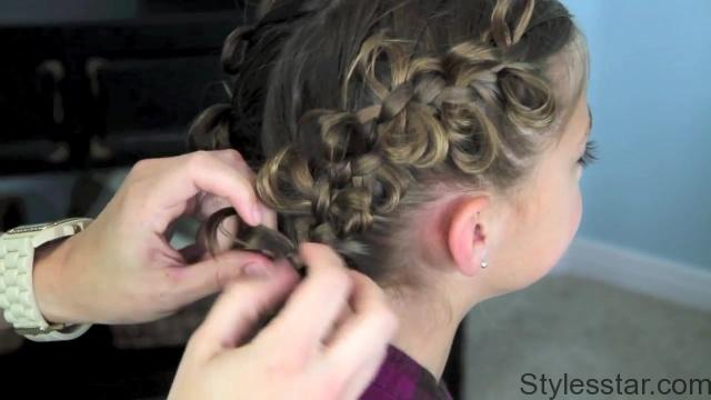 The Bow Braid _ Popular Hairstyles _ Cute Girls Hairstyles_HD720 19
