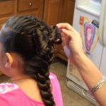FRENCH BRAID WITH A HAIRBOW (47)