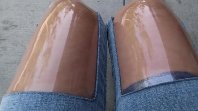 wearing the ugliest jeans in the world for a week 69