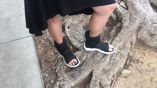 wearing the ugliest shoes in the world for a week 20
