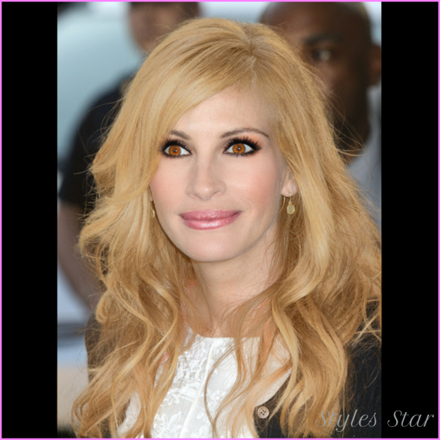 Julia Roberts - Golden blond Hair Color and Mally Beauty Dawn Get