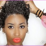 Short Natural Hair: An Easy Wash Day Routine for Moisturized and ...